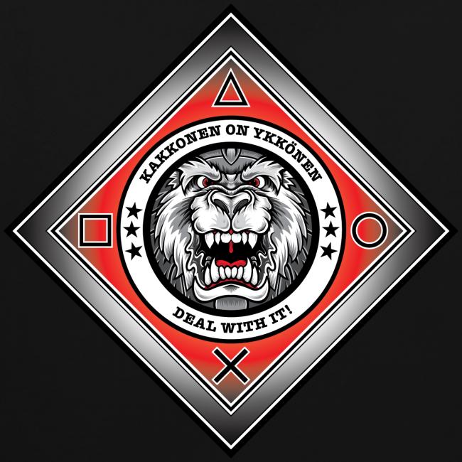 2on1 ry huppari, logo selässä
