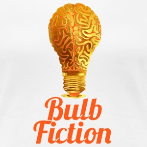 Helle Birne Bulb Fiction - Frauen Premium T-Shirt