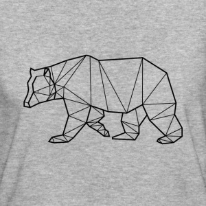 T-Shirt Bio Ours Noir - Animal Prism - Frauen Bio-T-Shirt