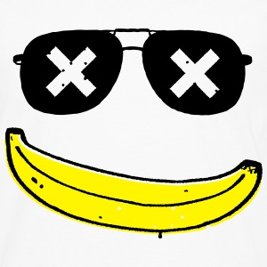 Funny Cool Smiley banana boss Long sleeve shirts - Men's Premium Longsleeve Shirt