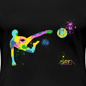 Festive football T-Shirts - Women's Premium T-Shirt