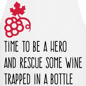 We have to save the wine from his bottle!  Aprons - Cooking Apron