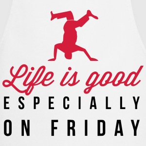Life is good on Friday  Aprons - Cooking Apron