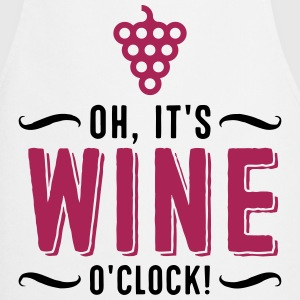 It s Wine Time  Aprons - Cooking Apron
