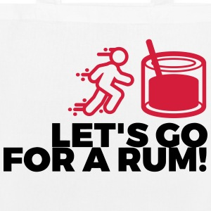 Let s drink a rum! Bags & Backpacks - EarthPositive Tote Bag