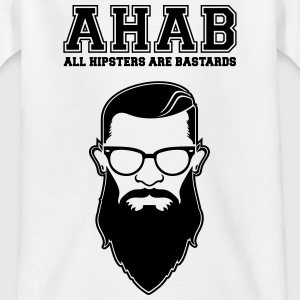 ALL HIPSTERS ARE BASTARDS - Funny Parody  Shirts - Kids' T-Shirt