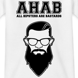 ALL HIPSTERS ARE BASTARDS - Funny Parody  T-shirts - T-shirt barn