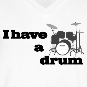 i have a drum - batterie Tee shirts - T-shirt Homme col V