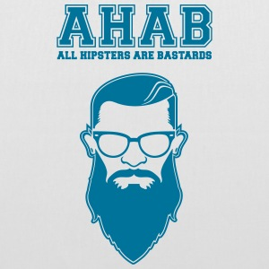 ALL HIPSTERS ARE BASTARDS - Funny Parody  Bags & Backpacks - Tote Bag