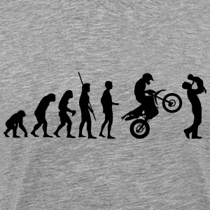 Evolution Enduro med far og barn T-shirts - Herre premium T-shirt