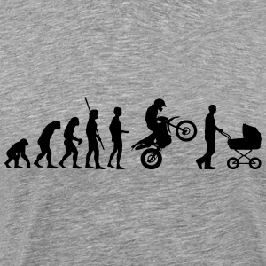 Evolution Enduro with strollers T-Shirts - Men's Premium T-Shirt