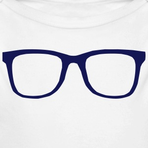 hipster brille Baby Bodys - Baby Bio-Langarm-Body