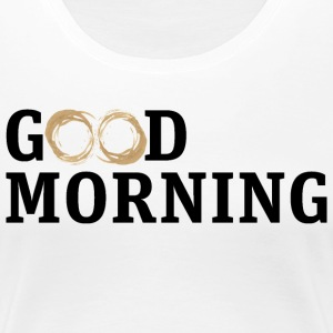 Good morning coffee smudge - Women's Premium T-Shirt