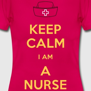 keep calm nurse T-Shirts - Maglietta da donna