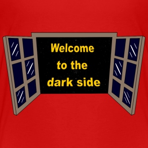 Welcome to the dark Side Skjorter - Premium T-skjorte for barn