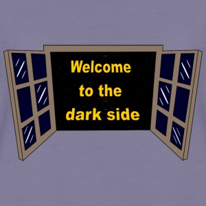 Welcome to the dark Side T-skjorter - Premium T-skjorte for kvinner
