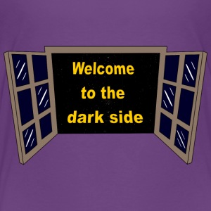 Welcome to the dark Side Shirts - Kinderen Premium T-shirt
