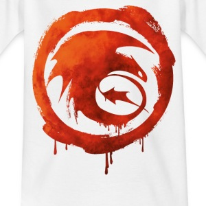Dragons Icon Strike Watercolor T-Shirt - Teenager T-Shirt