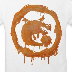 Dragons Icon Boulder Watercolor t-shirt - Kids' Organic T-shirt