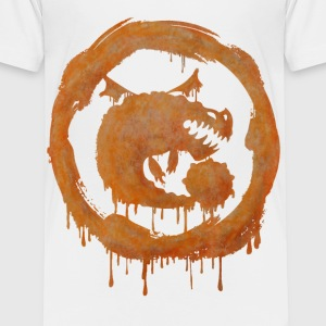Dragons Icon Boulder Watercolor T-Shirt - Kinder Premium T-Shirt