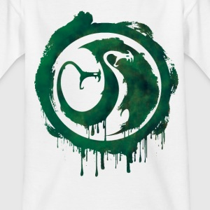Dragons Icon Tracker Watercolor t-shirt - Kids' T-Shirt