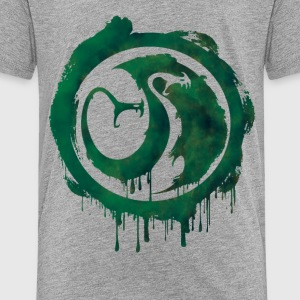 Dragons Icon Tracker Watercolor t-shirt - Teenage Premium T-Shirt