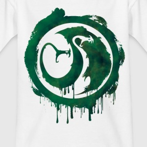 Dragons Icon Tracker Watercolor T-Shirt - Teenager T-Shirt