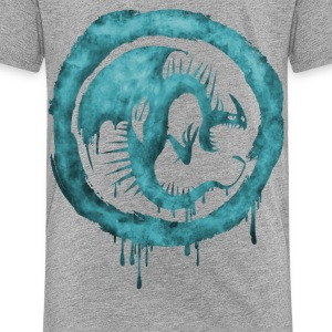 Dragons Icon Sharp Watercolor t-shirt - Kids' Premium T-Shirt