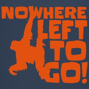 Orangutan 'Nowhere Left to Go' Kid's T-Shirt - Kids' Premium T-Shirt