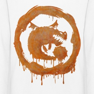 Dragons Icon Boulder Watercolor Langarmshirt - Kinder Premium Langarmshirt