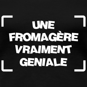Fromager / Agriculture / Fermier / Fromage / Ferme Tee shirts - T-shirt Premium Femme