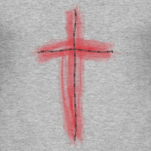 Cross - Blood T-shirts - Herre Slim Fit T-Shirt