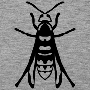 European hornet fly insect 1112 Tops - Women's Premium Tank Top