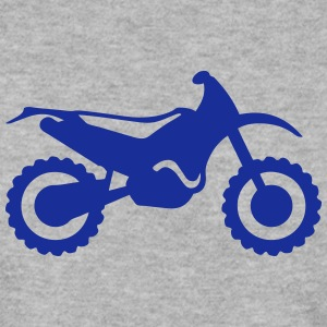 cross motorcycle 1112 Hoodies & Sweatshirts - Men's Sweatshirt