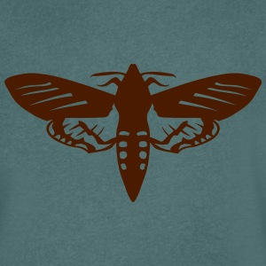 night butterfly insect 1112 T-Shirts - Men's V-Neck T-Shirt
