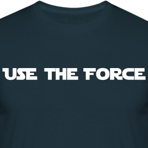 star war - use the force - T-shirt Homme