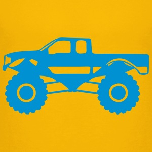 monster truck 1012 Shirts - Teenage Premium T-Shirt