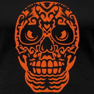 Mexican skull tattoo 10124 T-Shirts - Women's Premium T-Shirt