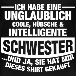 Tolle Schwester T-Shirts - Teenager Premium T-Shirt