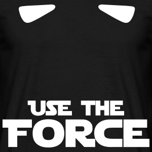 STAR WARS - use the force - T-shirt Homme