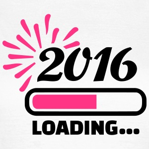2016 loading T-Shirts - Frauen T-Shirt