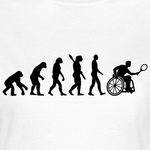 Evolution Rollstuhltennis T-Shirts - Frauen T-Shirt
