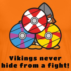 Vikings don't hide - Men's Premium T-Shirt