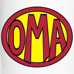 Super, Superheld, Superheldin, Hero, Oma Mugs & Drinkware - Travel Mug