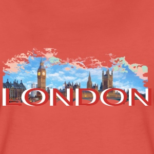 LONDON-RETRO Tee shirts - T-shirt Premium Femme