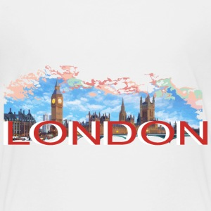 LONDON-RETRO Shirts - Kids' Premium T-Shirt