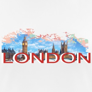 LONDON-RETRO Sportkläder - Andningsaktiv T-shirt dam