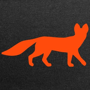 Fox looking vector Caps & Hats - Jersey Beanie
