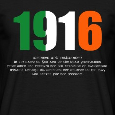 1916 Easter Rising and Proclamation Mens T-shirt