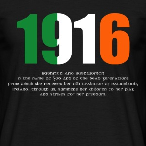 1916 Easter Rising and Proclamation Mens T-shirt - Men's T-Shirt